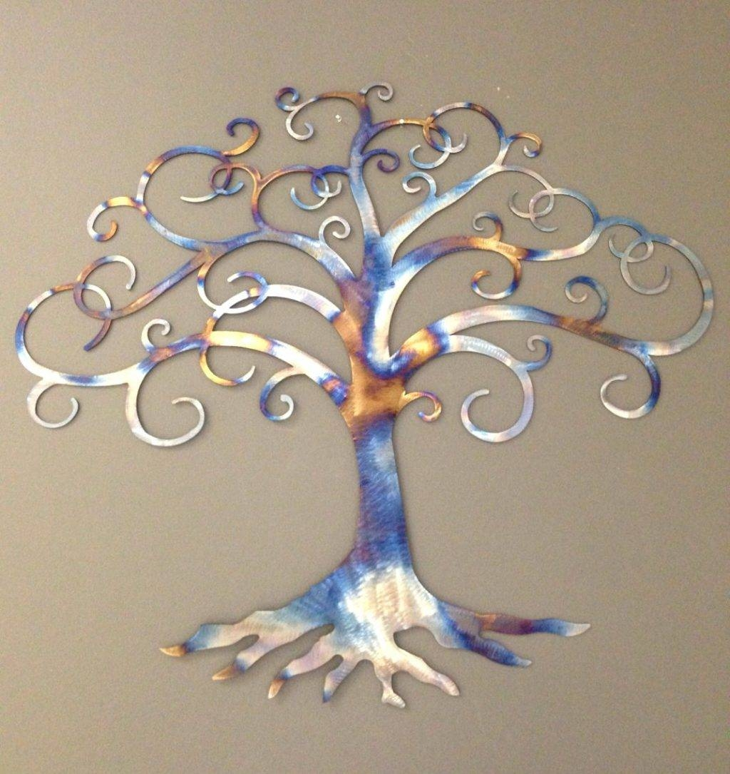 Wall Arts ~ Family Tree Wall Art Metal Black Tree Wall Art With Regard To Most Recently Released India Metal Wall Art (View 9 of 20)