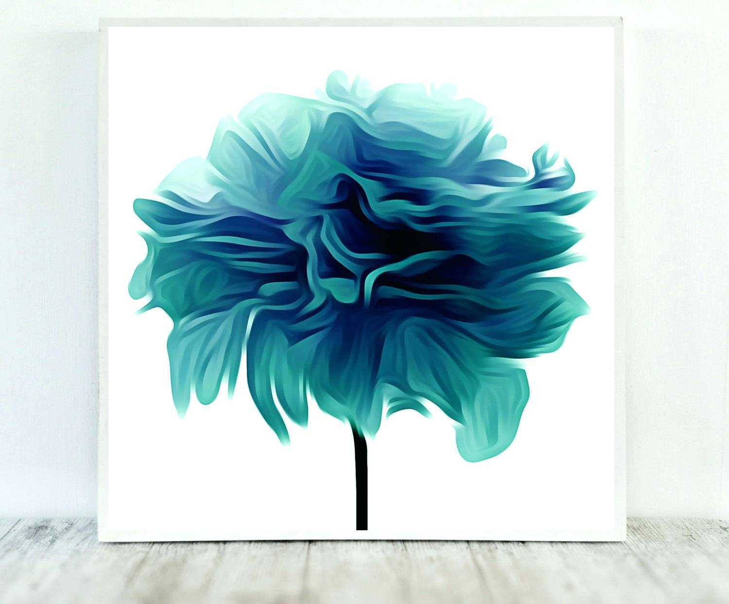 Wall Arts ~ Floral Delight Canvas Wall Art Medium Blue Set Of Two With Regard To Best And Newest Blue Flower Metal Wall Art (View 5 of 20)