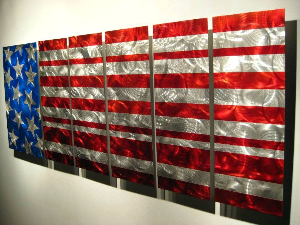 Wall Arts ~ Flying Eagle Metal Wall Art Eagle Metal Wall Art Eagle Intended For Most Current American Flag Metal Wall Art (View 9 of 20)
