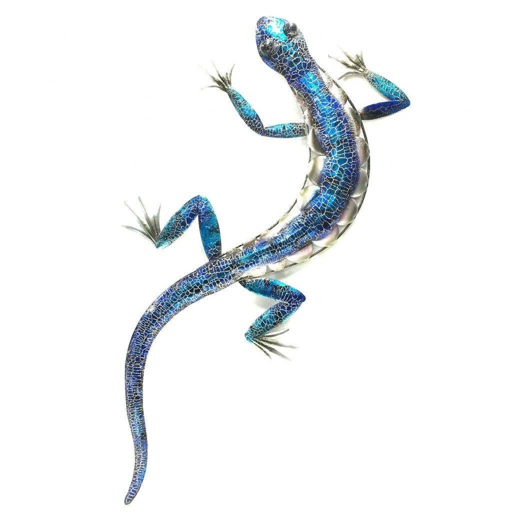 Wall Arts ~ Gecko Metal Wall Art Metal Gecko Wall Art Set Of 12 Intended For Best And Newest Gecko Metal Wall Art (View 18 of 20)
