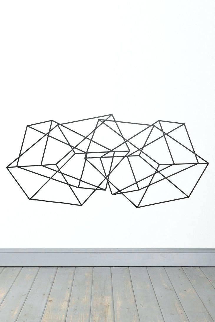 Wall Arts ~ Geometric Metal Wall Art Geometric Wall Art Photo In Throughout Most Recent Geometric Metal Wall Art (View 18 of 20)