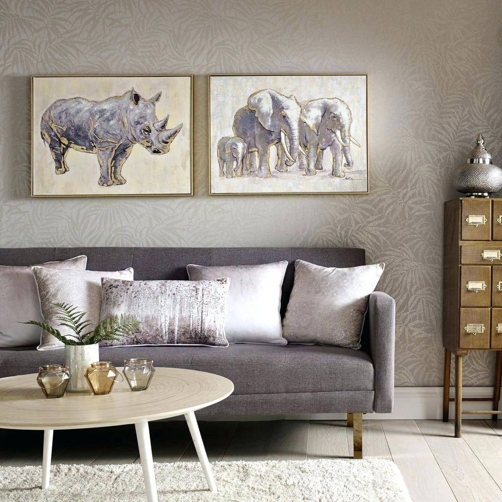 Wall Arts ~ Graham Brown Layered Meadow Landscape Wall Art Wall With 2017 Graham And Brown Metal Wall Art (View 11 of 20)