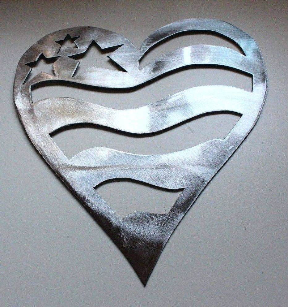 Wall Arts ~ Heart Shaped Metal Wall Art Photos That Really With Regard To Most Recent Heart Shaped Metal Wall Art (View 4 of 20)