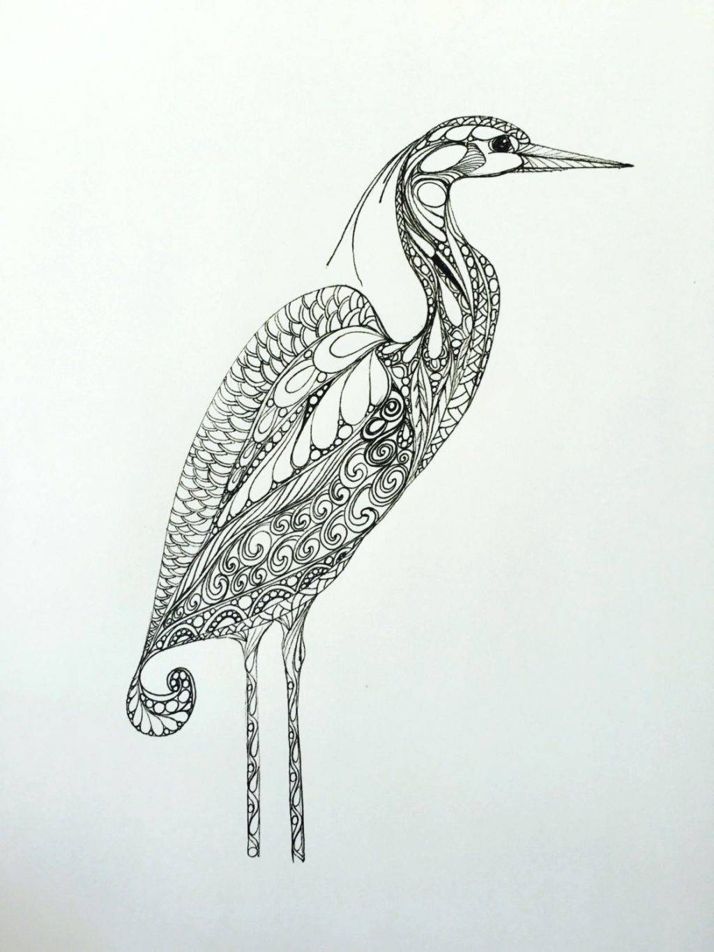 Wall Arts ~ Heron Metal Wall Art Great Blue Heron Metal Wall Art Regarding Current Blue Heron Metal Wall Art (View 8 of 20)