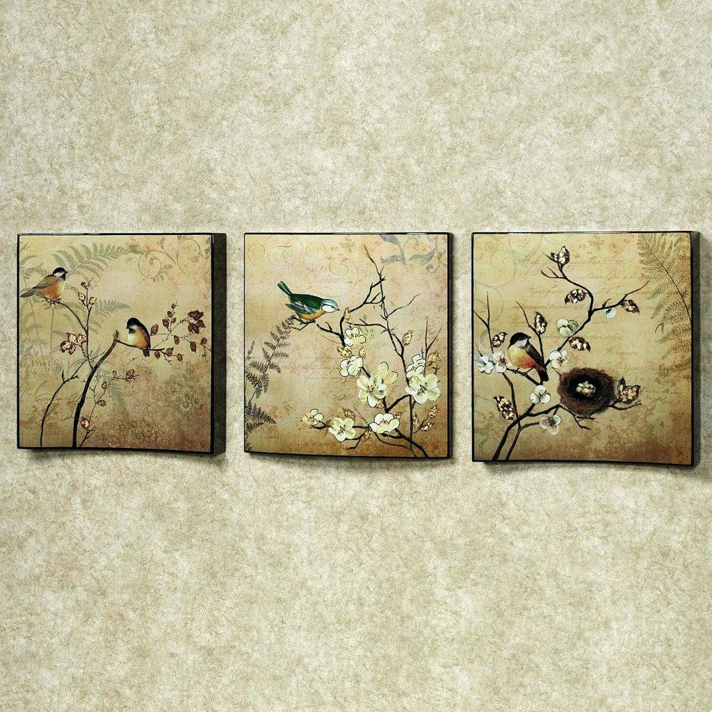 Wall Arts ~ Home Design Blue And Brown Metal Wall Art With Regard To Most Current Mediterranean Metal Wall Art (View 6 of 20)