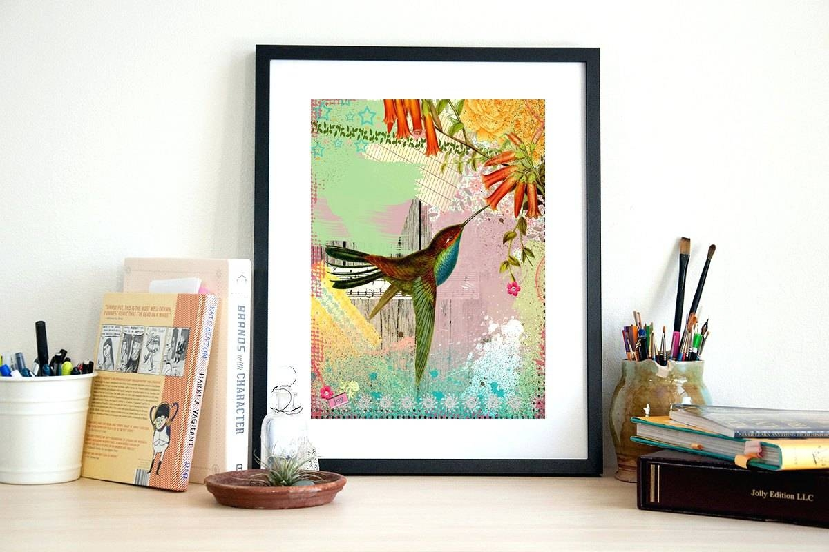 Wall Arts ~ Hummingbird Vinyl Wall Art Hummingbird Wall Art Metal Regarding Latest Hummingbird Metal Wall Art (View 14 of 20)
