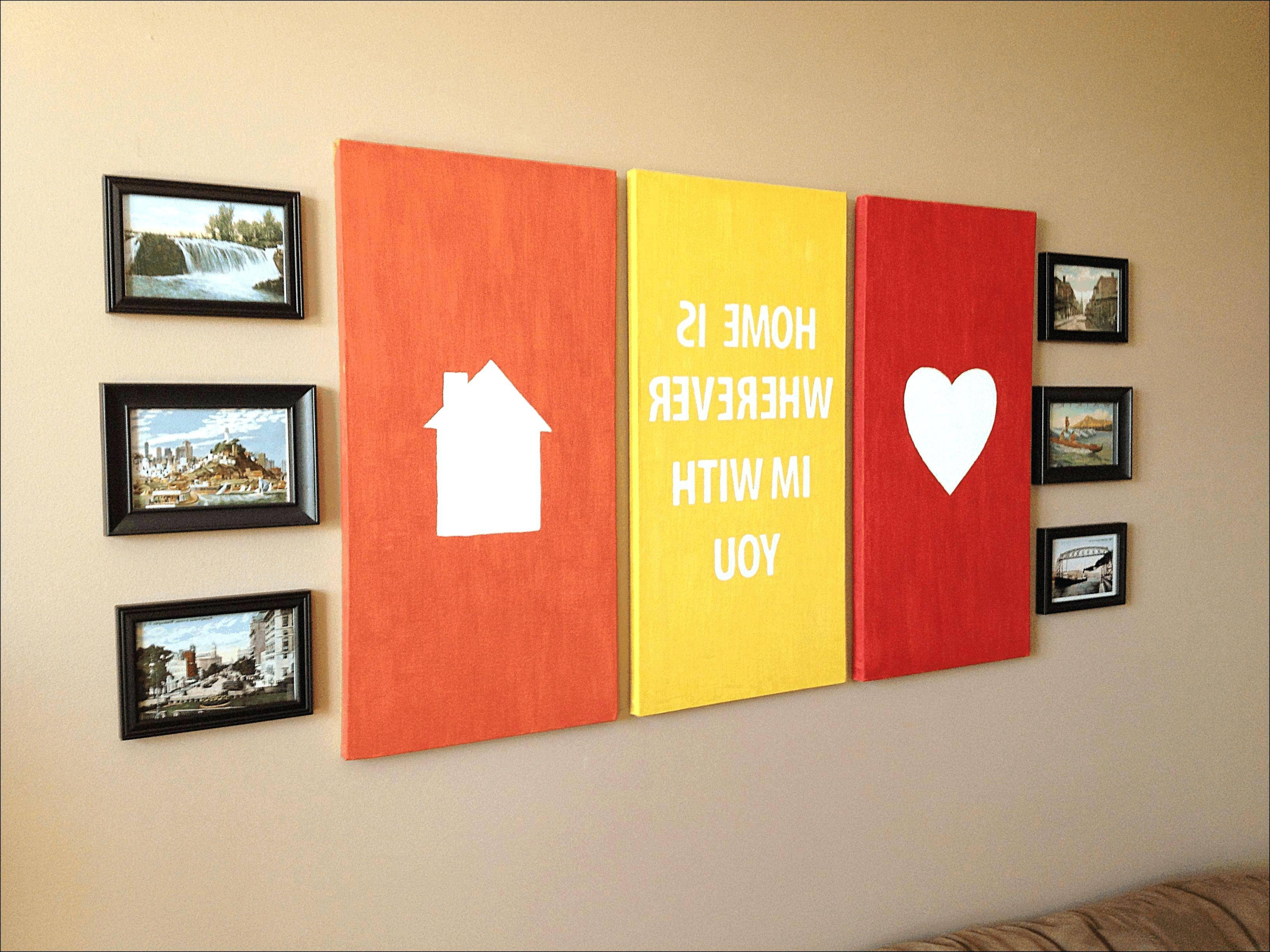 Wall Arts ~ Kitchen Diy Wall Art Projects Wooden Cutting Board Throughout Newest License Plate Map Wall Art (View 13 of 20)
