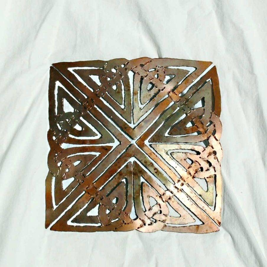 Wall Arts ~ Large Image For Outstanding Celtic Wall Art Wood Pertaining To Current Celtic Metal Wall Art (View 12 of 20)