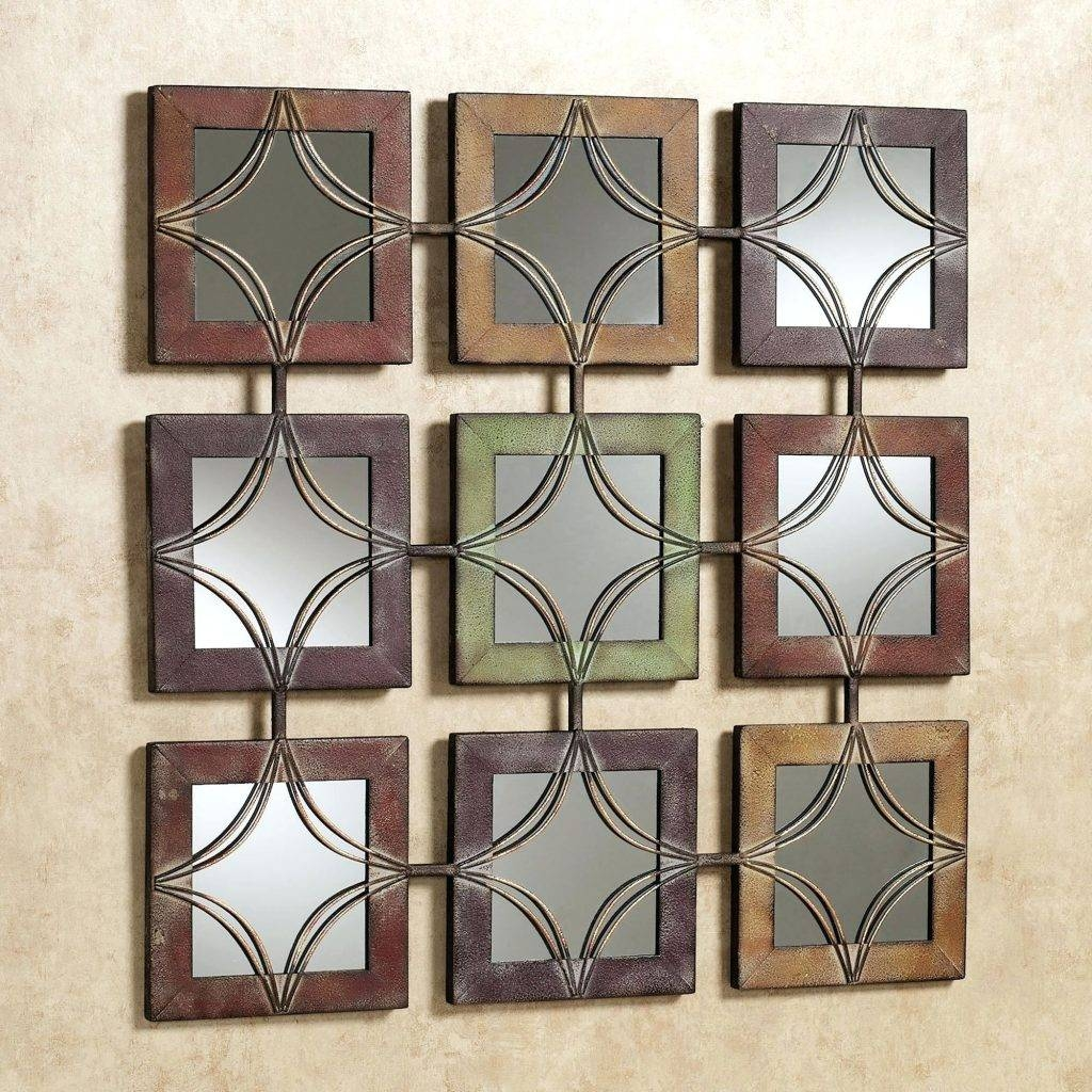 Wall Arts ~ Large Metal And Glass Wall Art Modern Abstract Metal Pertaining To Current Glass And Metal Wall Art (View 16 of 20)
