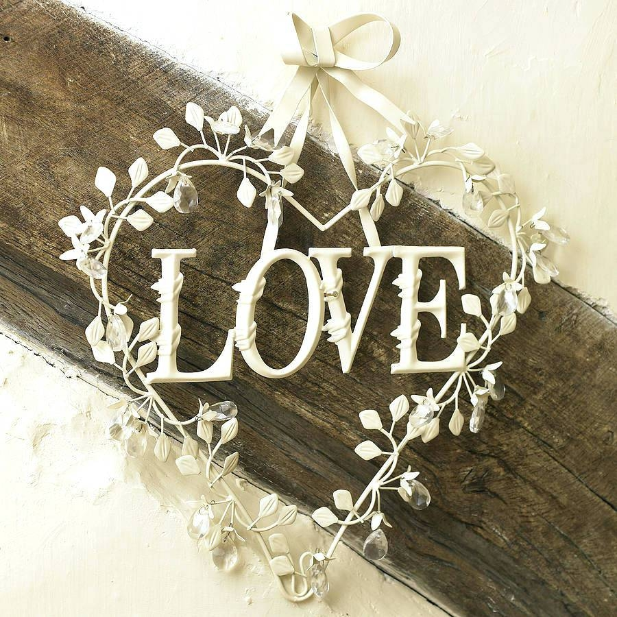Wall Arts ~ Large Metal Love Wall Art Gold Love Metal Wall Art Within Recent Live Laugh Love Metal Wall Art (View 20 of 20)