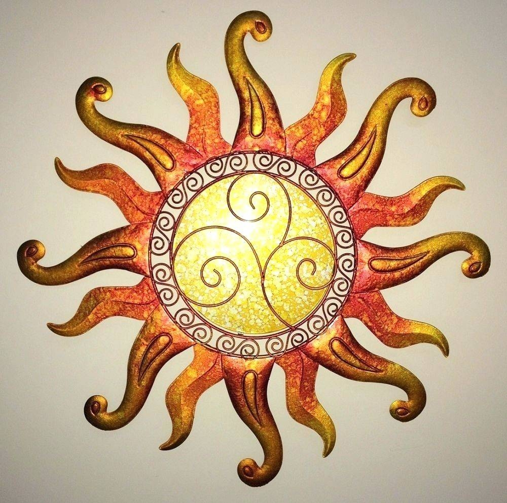 Wall Arts ~ Large Outdoor Metal Sun Wall Art Outdoor Metal Sun Intended For Latest Sun And Moon Metal Wall Art (View 18 of 20)