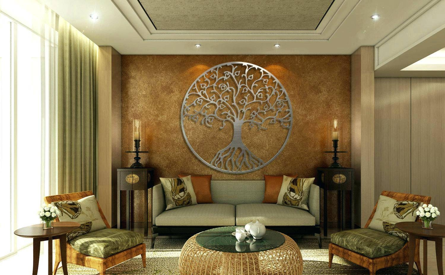 Wall Arts ~ Large Round Metal Wall Art Large Round Wood Wall Art For Most Current Large Round Metal Wall Art (View 10 of 20)