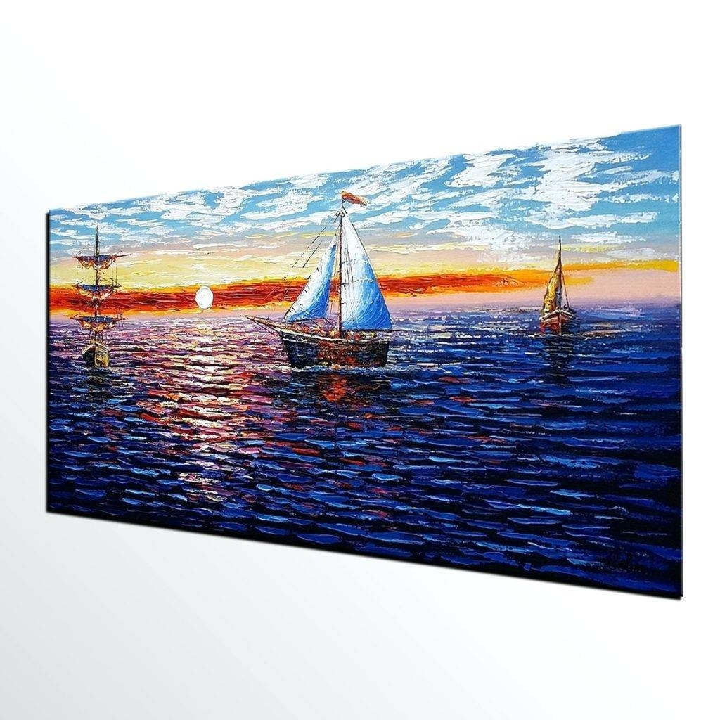 Wall Arts ~ Loading Sailing Boat Metal Wall Art Sailing Ship Metal Intended For Recent Metal Wall Art Boats (View 9 of 20)