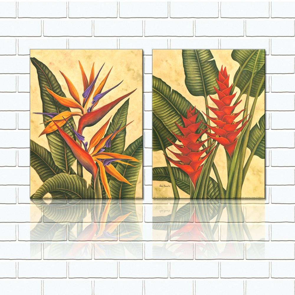 Wall Arts ~ Make A Photo Gallery Metal Wall Art Panels Tropical Intended For Most Recent Tropical Metal Wall Art (View 9 of 20)