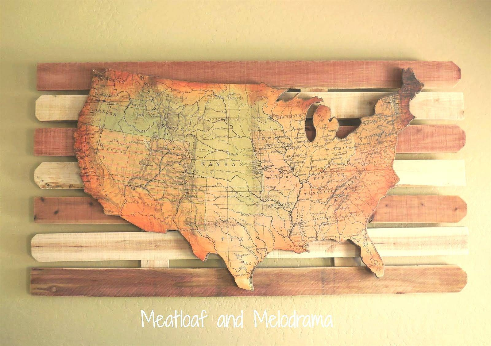 Wall Arts: Maps For Wall Art. Diy World Map Wall Art Tutorial Intended For Most Recent Africa Map Wall Art (Gallery 5 of 20)