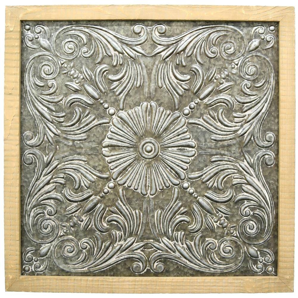 Wall Arts ~ Metal And Wood Wall Art Hobby Lobby Metal And Wood Pertaining To Recent Hobby Lobby Metal Wall Art (View 17 of 20)
