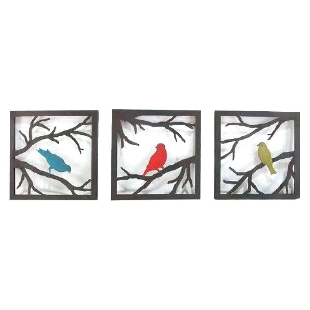 Wall Arts: Metal Birds Wall Art. Metal Bird Wall Art Canada (View 20 of 20)