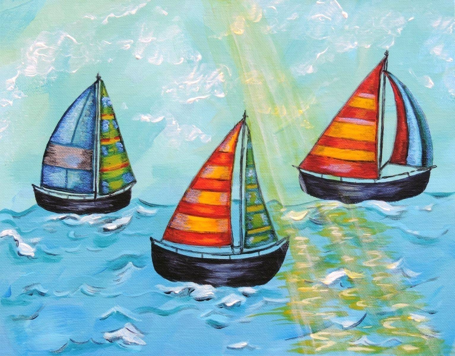 Wall Arts ~ Metal Boat Wall Art Sailboat Wall Art Metal 5 Piece In Most Popular Metal Wall Art Boats (View 11 of 20)