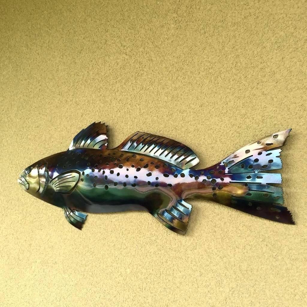 Wall Arts ~ Metal Fish Wall Art Nz Wall Art Metal Wall Art Wooden Pertaining To Best And Newest Fish Metal Wall Art (View 15 of 20)