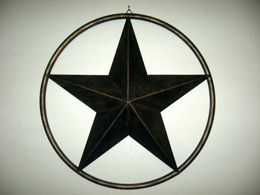 Wall Arts ~ Metal Texas Star Wall Art Western Metal Star Wall Art Throughout Current Texas Star Metal Wall Art (View 14 of 20)