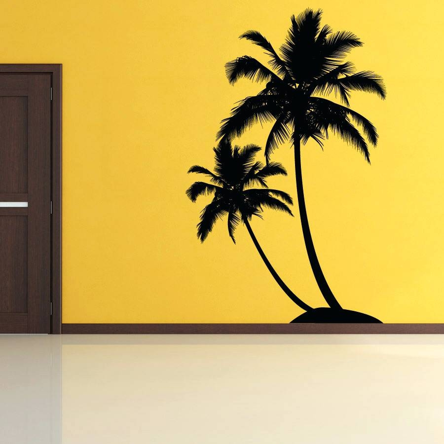 20 Best Collection of Metal Wall Art Palm Trees