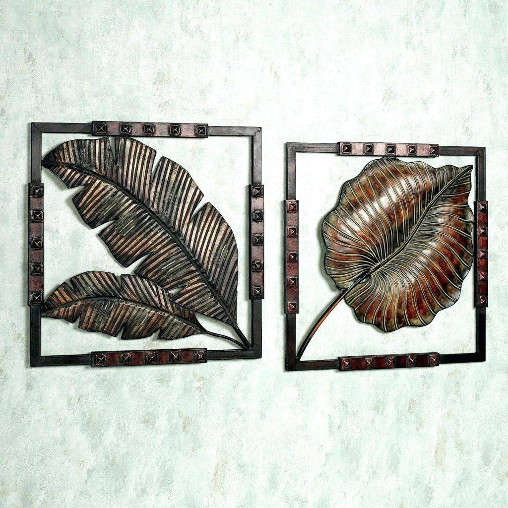 Wall Arts ~ Metal Wall Art Palm Trees Tropical Wall Decor Tropical Throughout Recent Metal Wall Art Palm Trees (View 18 of 20)