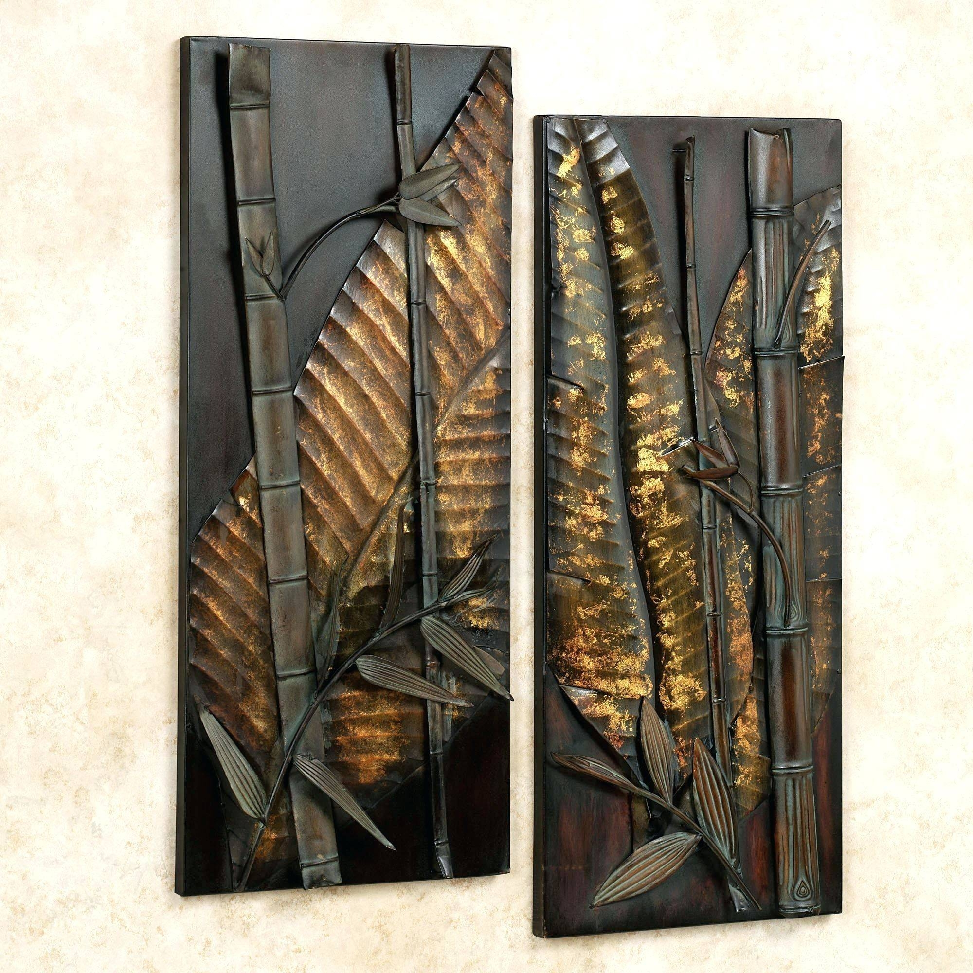 Wall Arts ~ Metal Wall Art Panels Outdoor Click To Expand With Most  Recently Released Outdoor