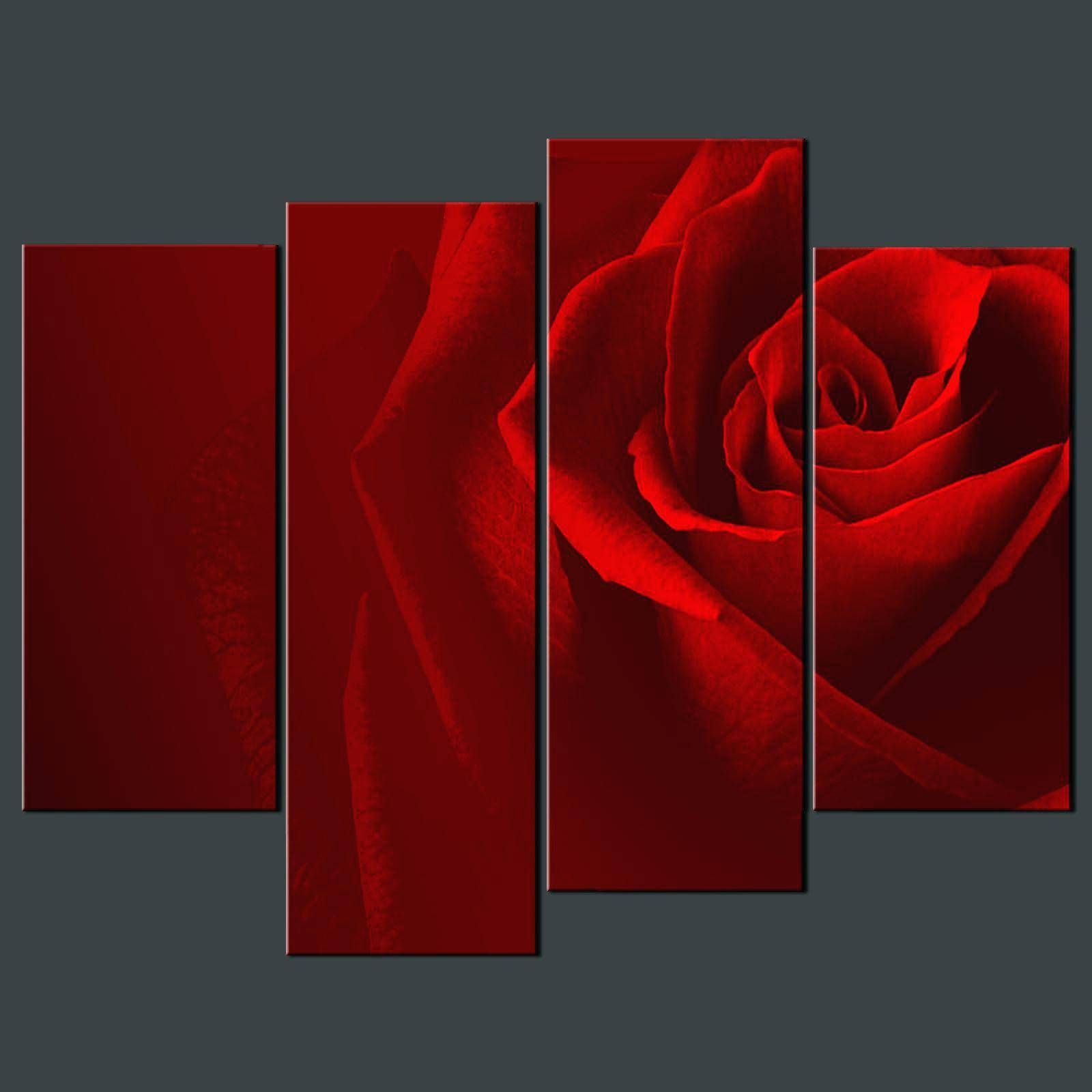 Wall Arts ~ Metal Wall Art Red Flowers Red Metal Wall Art Decor Intended For Most Popular Red Metal Wall Art (View 19 of 20)