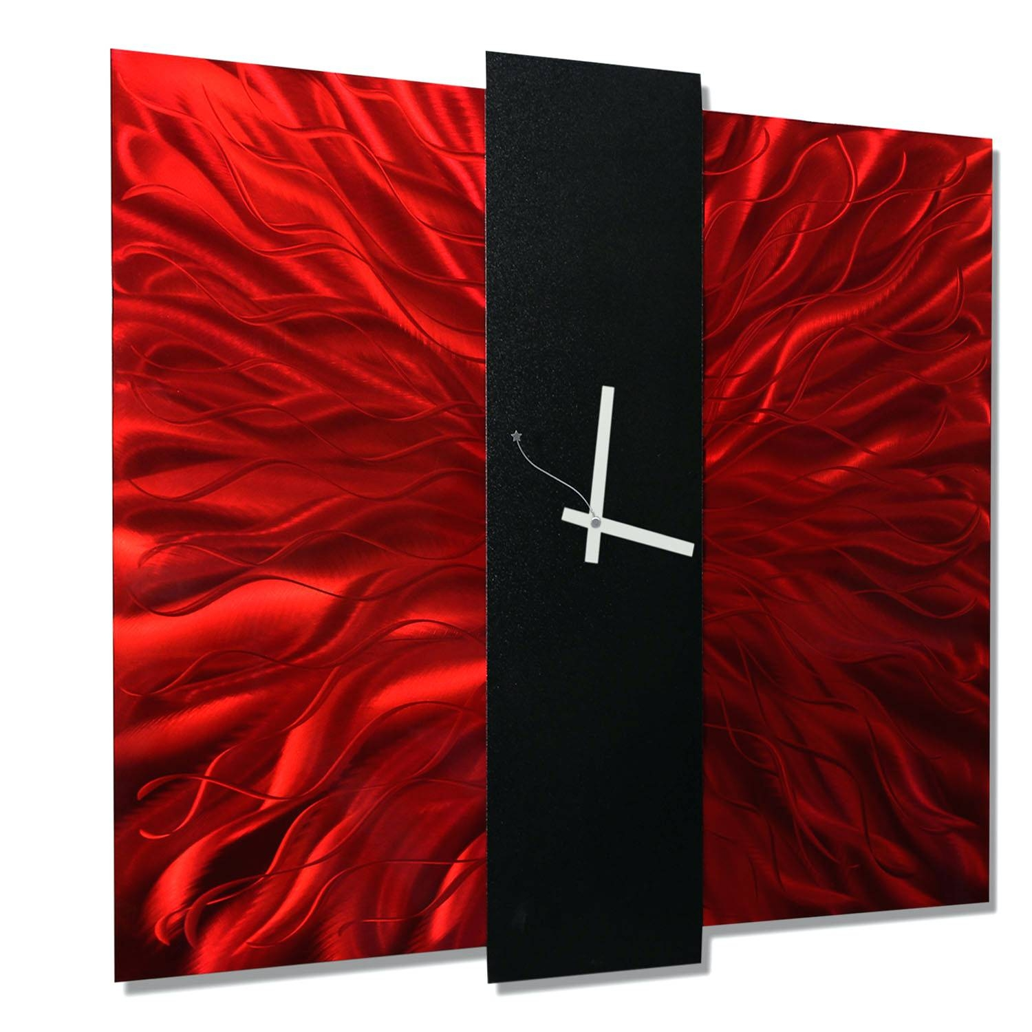 Wall Arts ~ Metal Wall Art Red Poppy Wall Art In Red Mgctlbxnmzp Within Most Recent Red Tree Metal Wall Art (View 8 of 20)