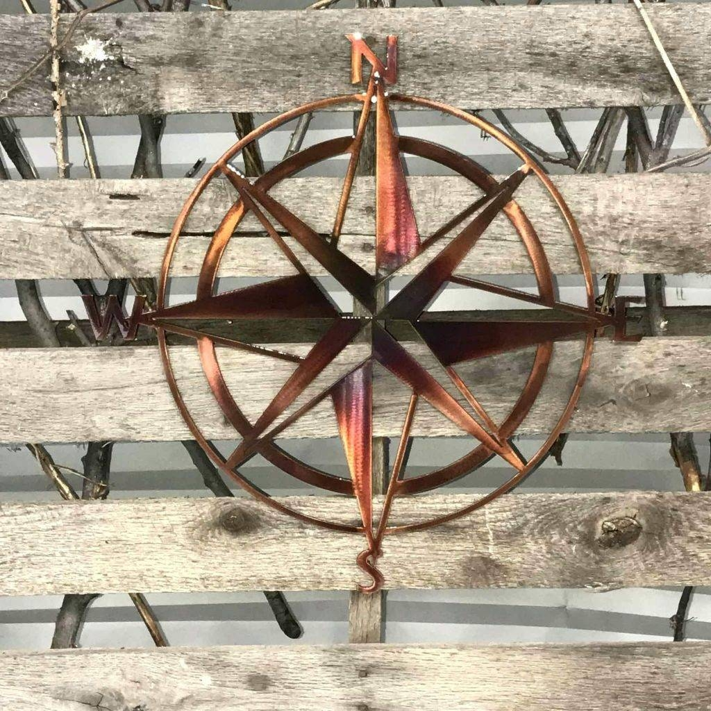 Wall Arts ~ Nautical Metal Outdoor Wall Art Nautical Metal With Regard To 2018 Nautical Metal Wall Art (View 20 of 20)