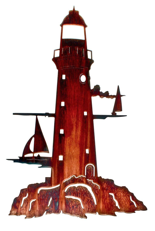 Wall Arts: Nautical Metal Wall Art (View 19 of 20)