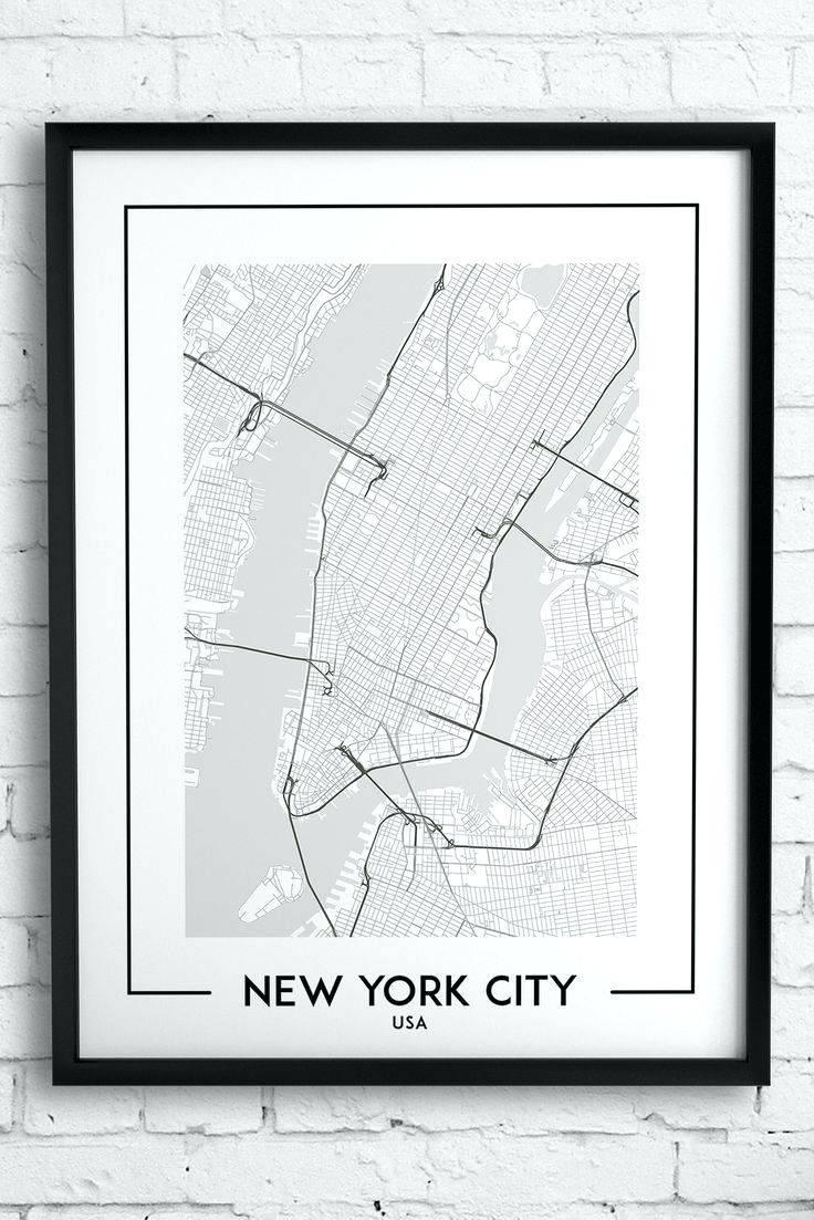 Wall Arts ~ New York City Subway Map Wall Art City Wall Art Best Inside Most Popular New York Subway Map Wall Art (View 7 of 20)