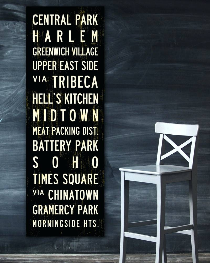 Wall Arts ~ New York City Subway Map Wall Art Wall Art New York In Newest Subway Map Wall Art (Gallery 13 of 20)