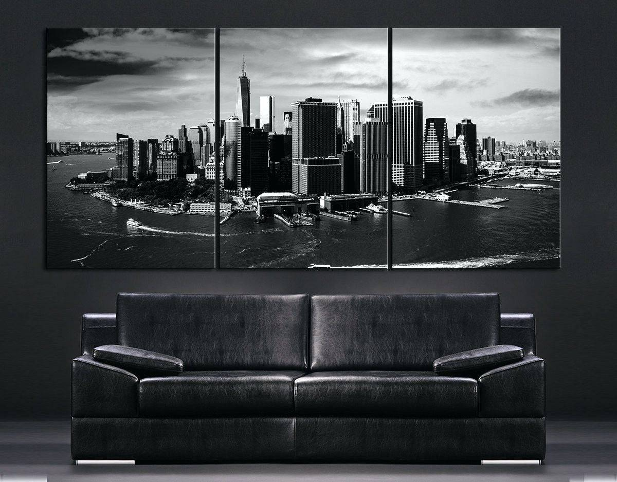 Wall Arts ~ New York City Wall Art Decals New York City Canvas With Regard To 2017 New York Map Wall Art (View 13 of 20)
