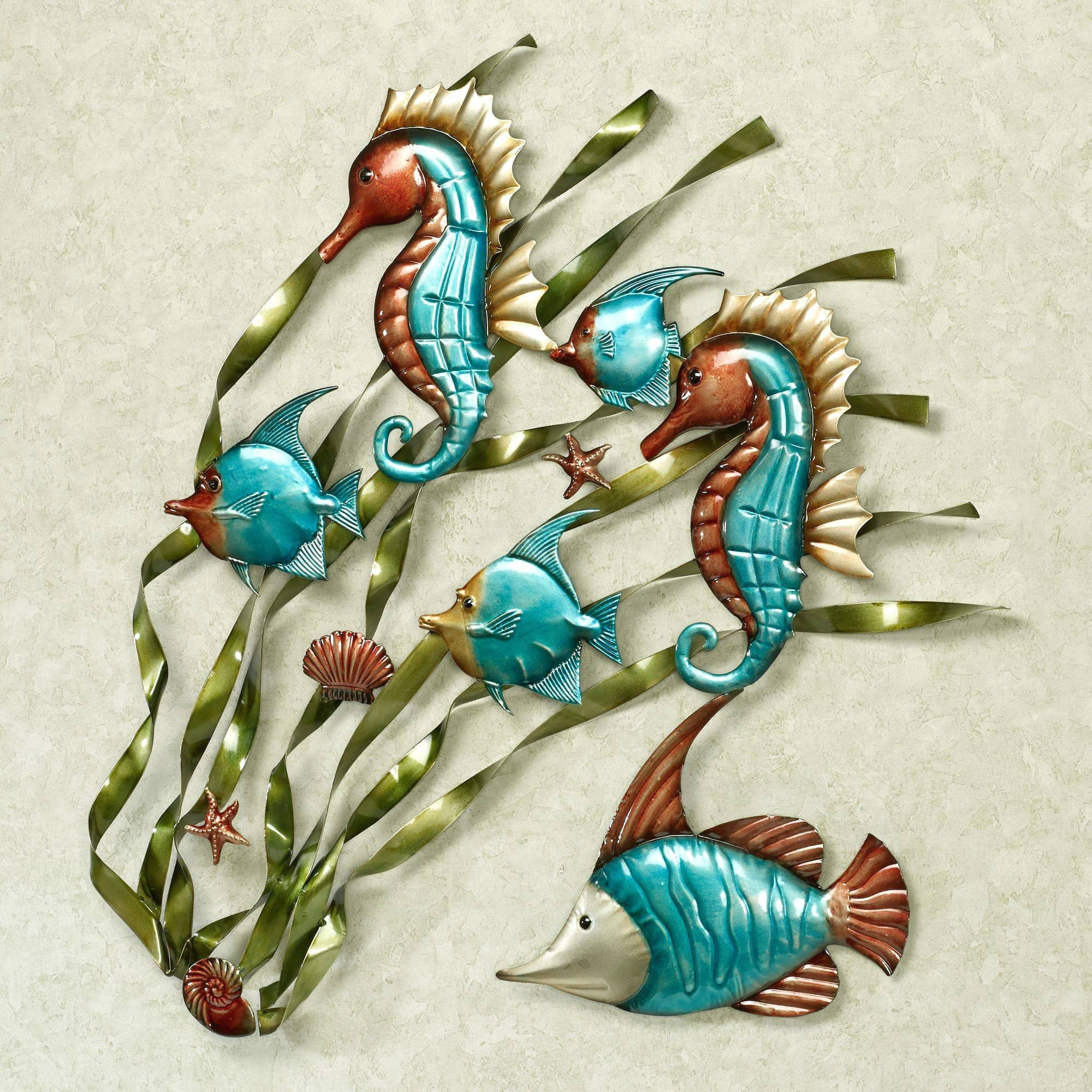 Wall Arts ~ Outdoor Metal Wall Art Fish Metal Fish Wall Art Nz Cod For Most Recent Tropical Fish Metal Wall Art (View 18 of 20)