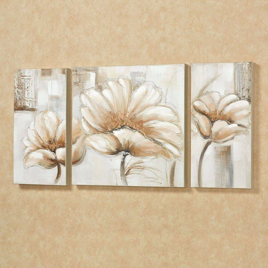 Wall Arts ~ Pink And Blue Flower Wall Art Pink Flower Metal Wall In Newest Pink Metal Wall Art (View 15 of 20)
