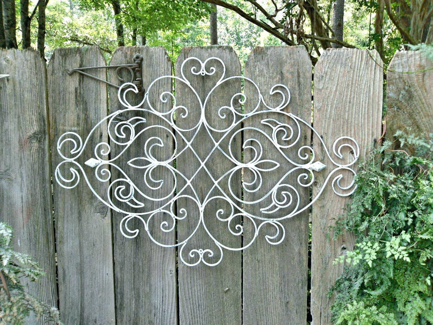 Wall Arts ~ Pottery Barn Iron Scroll Wall Art Iron Scroll Wall Art Throughout Current Pottery Barn Metal Wall Art (View 10 of 20)
