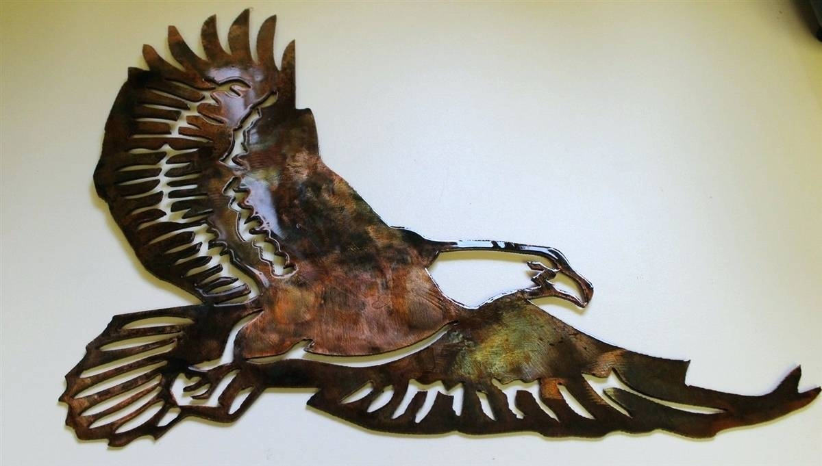 Wall Arts ~ Price 2899 American Bald Eagle Metal Wall Art Eagle For Most Up To Date Eagle Metal Wall Art (Gallery 13 of 20)
