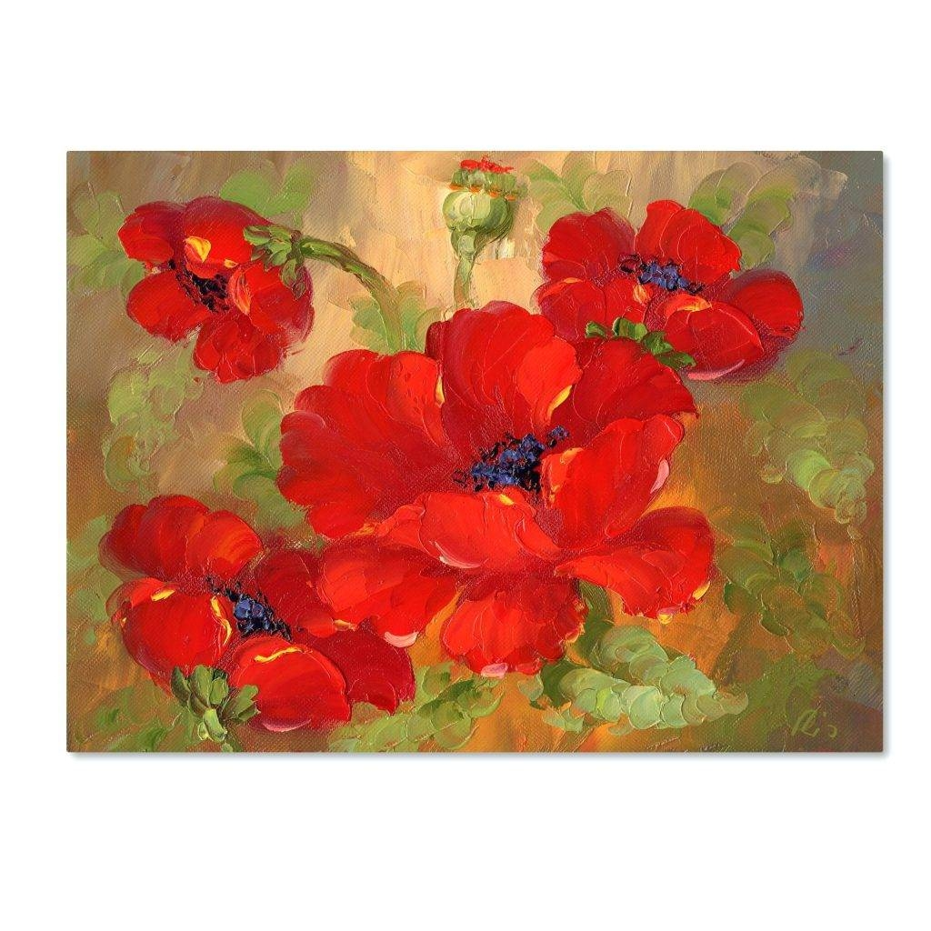 Wall Arts ~ Purple Poppy Metal Wall Art This Ready To Hang Gallery Within Most Recently Released Poppy Metal Wall Art (View 2 of 20)