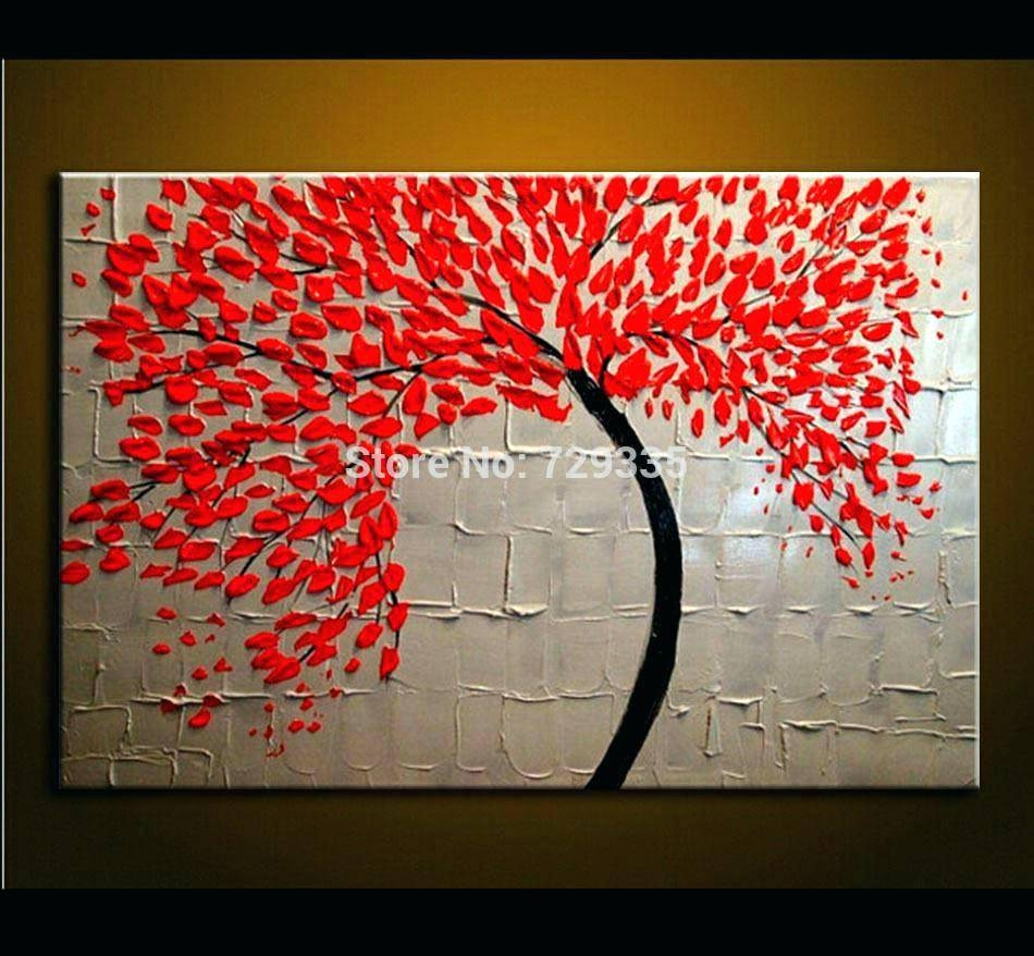 Wall Arts ~ Red And White Kitchen Wall Art Kitchen Red Canvas Wall Intended For Most Popular Red Tree Metal Wall Art (View 6 of 20)