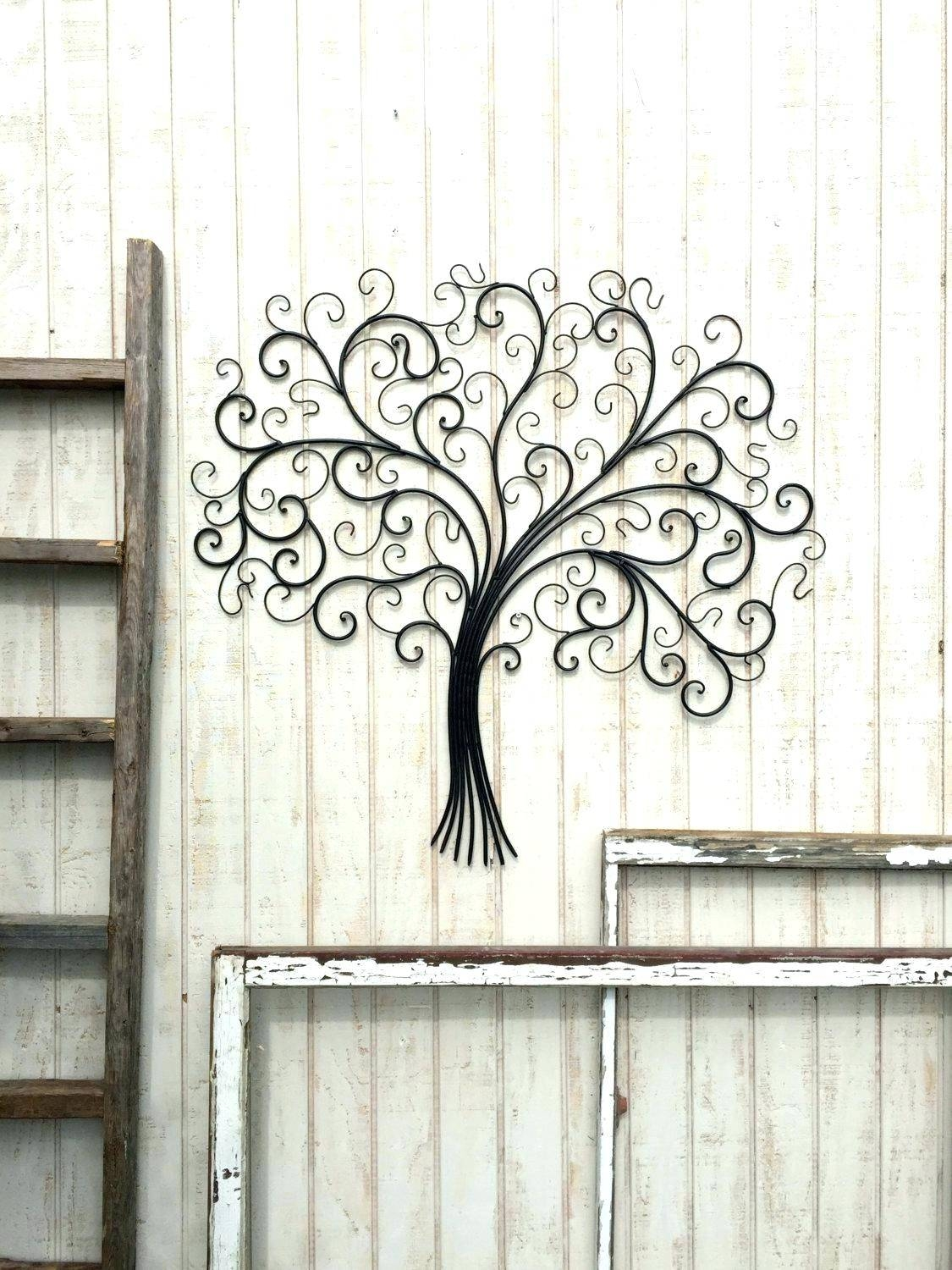 Wall Arts ~ Rustic Wood And Iron Wall Art Distressed Wood And Intended For 2017 Distressed Metal Wall Art (View 11 of 20)