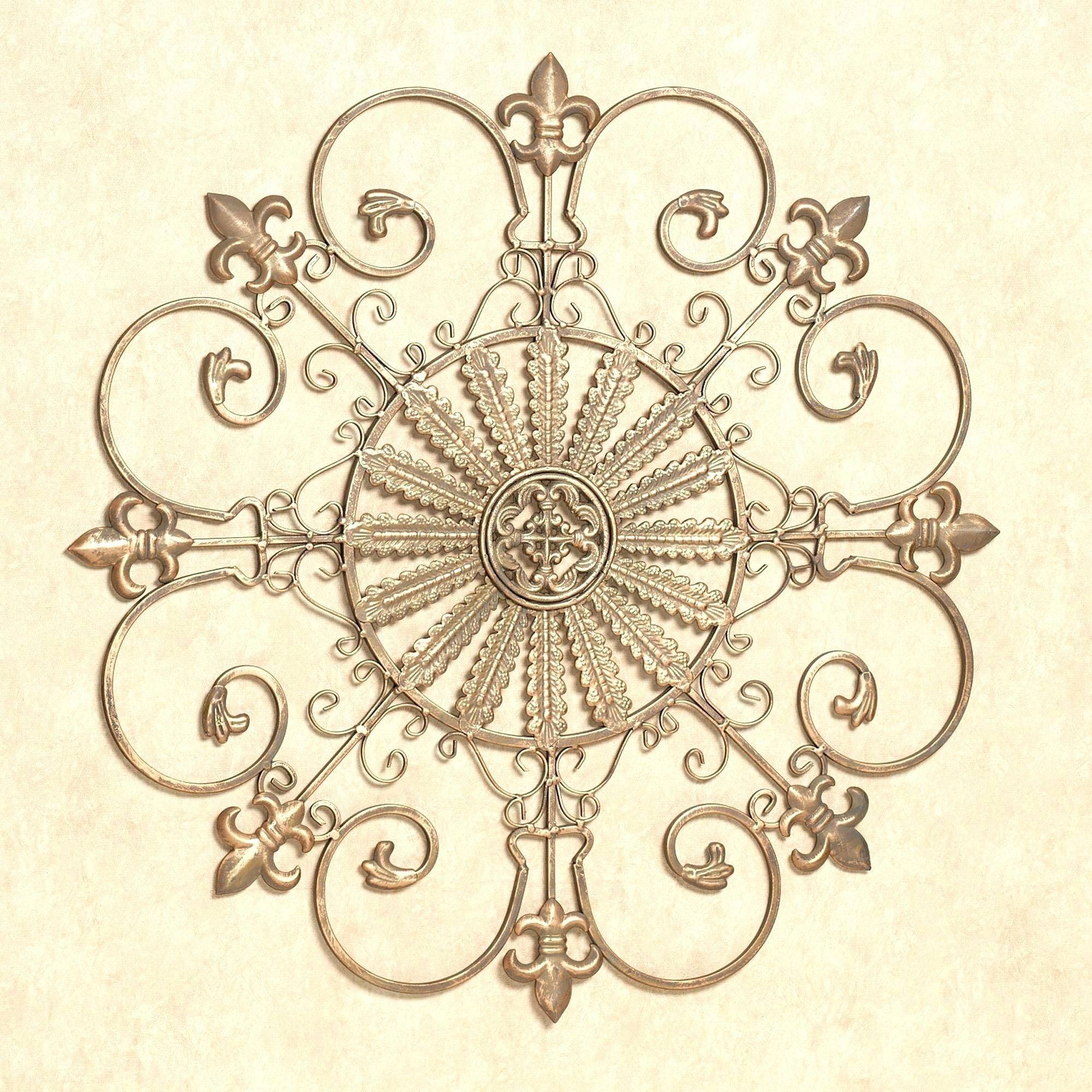 Wall Arts ~ Scroll Iron Wall Art Round Metal Scroll Wall Art Round In Current Large Round Metal Wall Art (View 8 of 20)