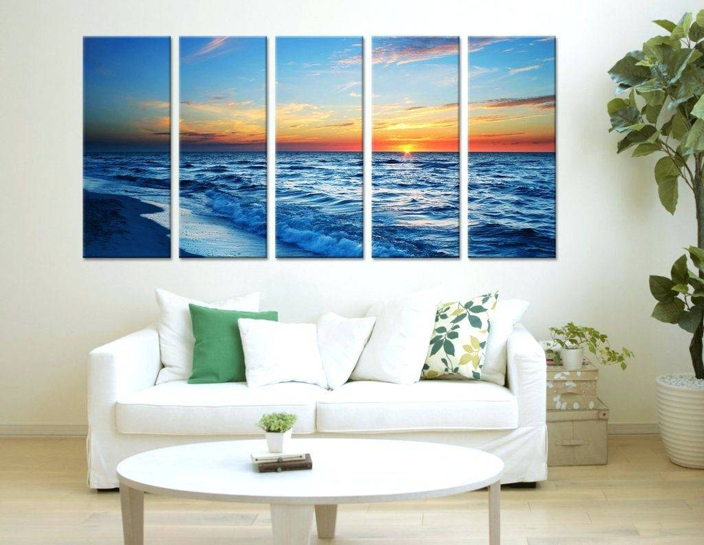 Wall Arts ~ Sea Themed Metal Wall Art Baby Beach Themed Canvas Intended For Most Recent Beach Themed Metal Wall Art (View 9 of 20)