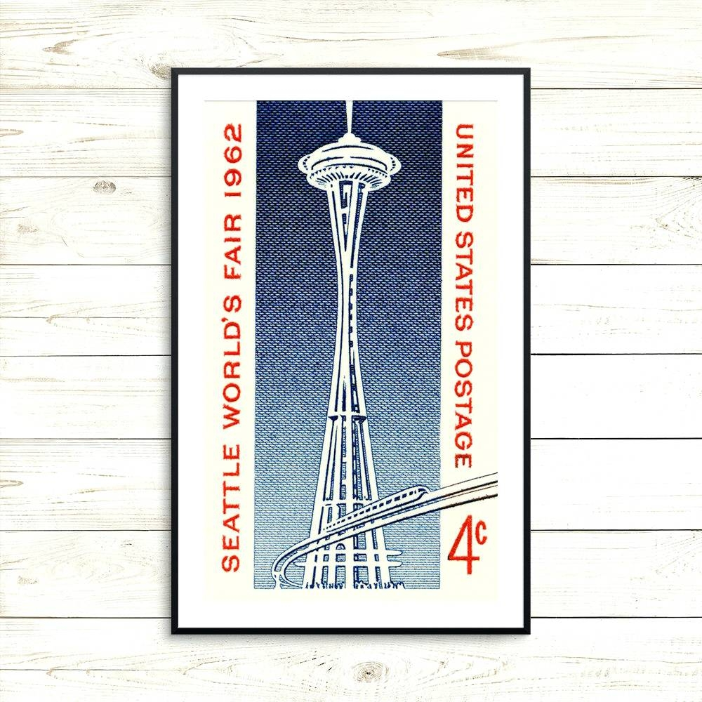 Wall Arts ~ Seattle Wall Art Ikea Metal Wall Art Seattle Gift For Within 2017 Seattle Map Wall Art (View 20 of 20)