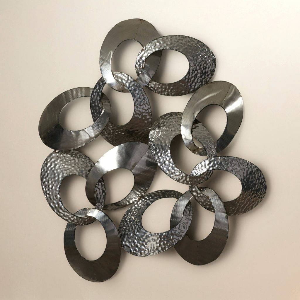 Wall Arts ~ Silver Metal Wall Art Flowers Silver Wall Art Metal Intended For 2018 Silver Metal Wall Art Flowers (View 16 of 20)