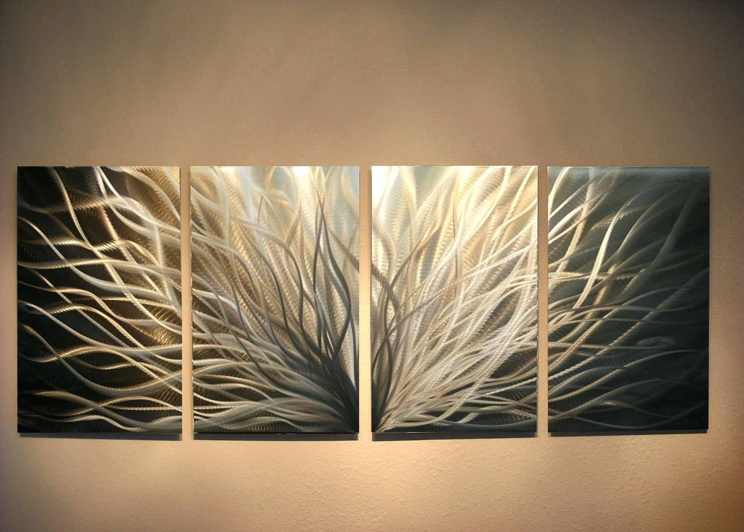 Wall Arts ~ Silver Metal Wall Art Next Silver Metal Wall Art Throughout Newest Silver Metal Wall Art Flowers (View 19 of 20)