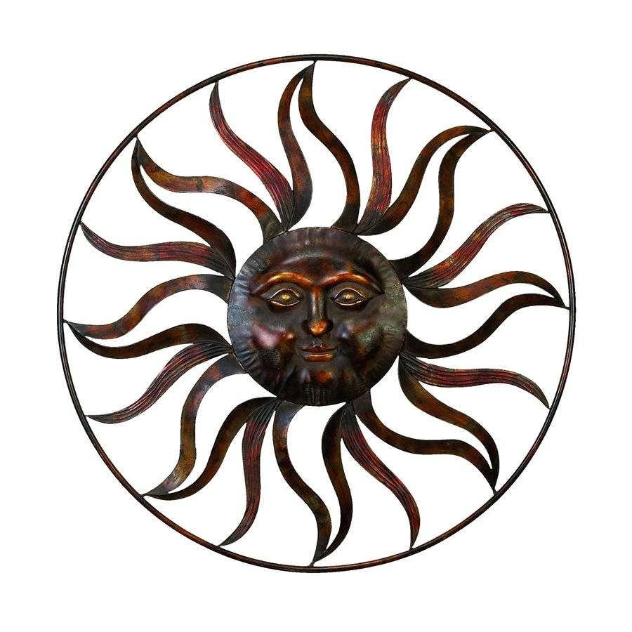 Wall Arts ~ Splendid Celestial Sun Moon Wall Art Hanging Metal Intended For 2018 Sun Metal Wall Art (View 20 of 20)