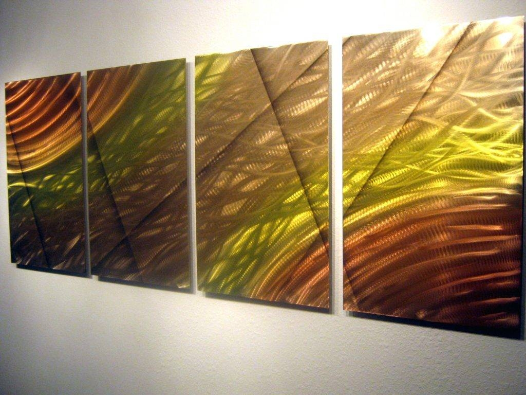 Displaying Gallery of Painting Metal Wall Art (View 16 of 20 Photos)