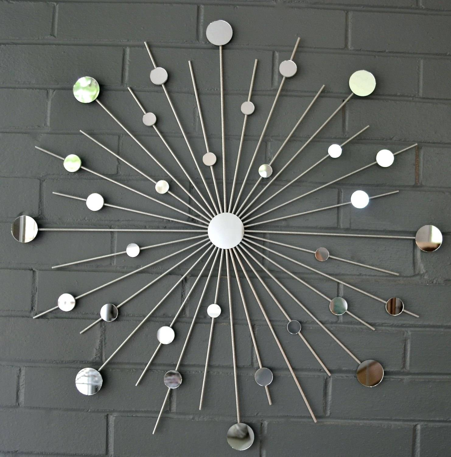 Wall Arts ~ Starburst Wall Art Sculpture Starburst Mixed Metal Intended For Most Recent Sunburst Metal Wall Art (View 20 of 20)