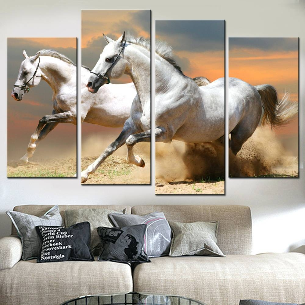 Wall Arts ~ Superb Wall Art Horse Decals Vinyl Wall Art Horses With Most Up To Date Horse Metal Wall Art (View 17 of 20)